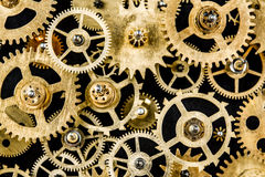 Old mechanism background Stock Images