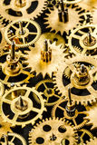 Old mechanism background Royalty Free Stock Photography