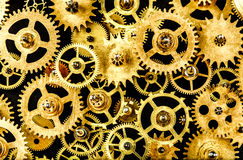 Old mechanism background Stock Photo