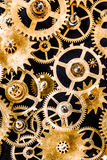 Old mechanism background Stock Image