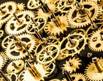Old mechanism background Stock Photography