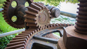The old mechanism Royalty Free Stock Image