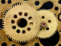 Old mechanism with gears Stock Image