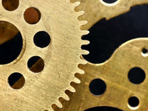 Old mechanism with gears Stock Photos
