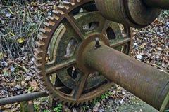 Old mechanism gears Stock Image