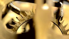 Old mechanism stock footage
