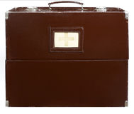 Old medical suitcase. Royalty Free Stock Photos