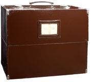 Old medical suitcase. Royalty Free Stock Images
