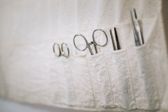 Old medical and surgical instruments Stock Photo