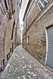 Old medieval alley Royalty Free Stock Photo