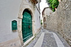 Old medieval alley Stock Image