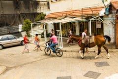 Old medieval Arab neighborhood of Jaffa Royalty Free Stock Image