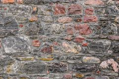 Old medieval brick wall background. Grey stock images