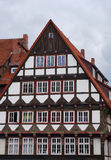 Old medieval building in Hameln, Germany. Old medieval building in the Weser Renaissance style in Hameln, Germany Stock Photo