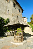 Old medieval castle Bled, Slovenia Royalty Free Stock Photography