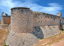Castle Chinchon royalty free stock photo