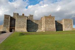 Old medieval castle in Dover, England. Old medieval castle in Dover, Britain Stock Image