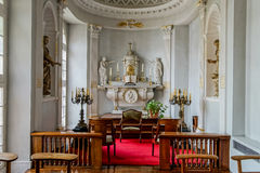 Old medieval castle interior Royalty Free Stock Images