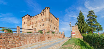 Old medieval castle in Italy. Stock Photography