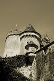 Old Medieval Castle in Perigord, France Royalty Free Stock Photography