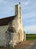 Old medieval church. In french province manor Stock Image