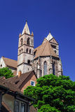 Old medieval church in Alsace Stock Photos