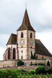 Old medieval church in Alsace Stock Images