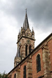 Old Medieval Church In Alsace Stock Image