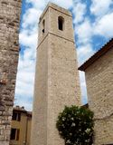 Saint Paul de Vence - Old medieval church. Old medieval church in Saint Paul de Vence, one of the oldest towns of the French riviera royalty free stock images