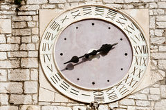 Old medieval clock Royalty Free Stock Images