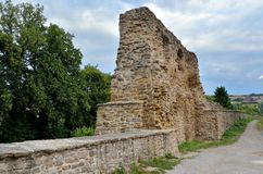 Old medieval fortification. Stock Photo