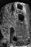 Old medieval fortress Ortenbourg in Alsace Stock Photography