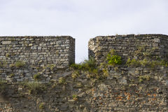 Old Medieval Fortress Wall Royalty Free Stock Photography