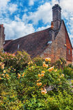 Old medieval house  in Battle town , England Royalty Free Stock Photos