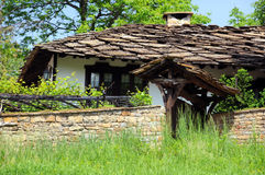 Old Medieval House in Bozhentsi Stock Image
