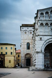Old Medieval Lucca - classic Italian town Stock Photography