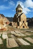 Old medieval monastery. Armenian church in old medieval monastery Royalty Free Stock Photo