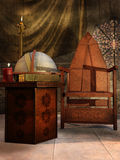 Old medieval room Stock Photography