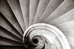 Old Medieval Staircase In A Castle Royalty Free Stock Photos