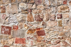 Old medieval stone wall Royalty Free Stock Image