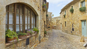 Old medieval street Royalty Free Stock Photo