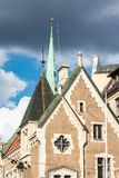 Old Riga roofs and towers Royalty Free Stock Photos