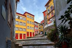 Porto. Old street. Stock Photography
