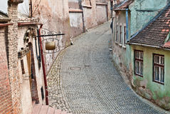 Old Medieval Street Stock Image