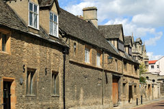 Old Medieval Street In The University City Of Oxford Stock Images