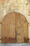 Old medieval style door Royalty Free Stock Photos