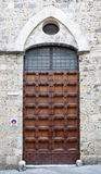Old medieval style door Royalty Free Stock Photography