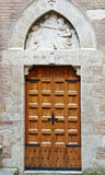 Old medieval style door Royalty Free Stock Photo