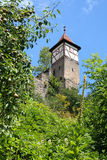 Old medieval tower in Bad Wimpfen, Germany Royalty Free Stock Images