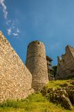 The old medieval tower built from stones Royalty Free Stock Photography